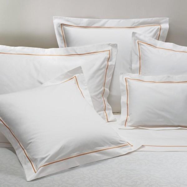 Fundas de almohadas con feston