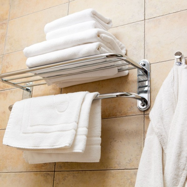 Toallas de baño, toallas de lavabo, toallas de invitados, alfombras de baño en rizo blanco